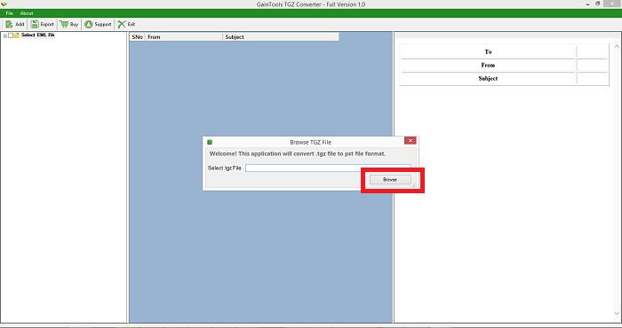 TGZ to ICS Converter Tool to Migrate Zimbra TGZ File into